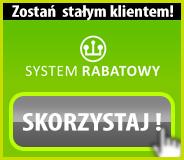 Skorzystaj - system rabatowy. zostań stałym klientem!